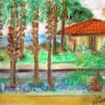 """""The Ocean View in Santa Barbara"""" by Artworksbyliz"