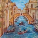 """Gondola in Vience"" by Artworksbyliz"