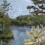 """""""White Pond"""" by MichelleArnoldPaine"""