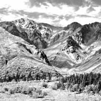Alaska glacial valley Art Prints & Posters by Dick Goodman