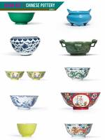 Asian Art, Chinese Pottery - Bowls by Adam Asar