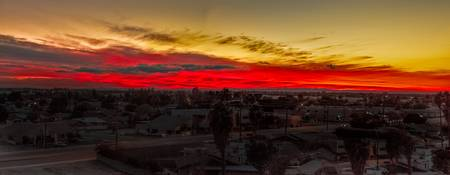 Sunset Over Yuma
