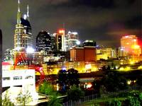 Downtown Nashville at Night