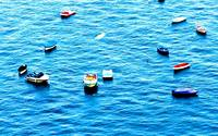 Boats in Southern Italy