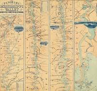 Vintage Map of The Mississippi River (1863)