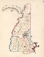 Vintage Map of New Hampshire (1819)