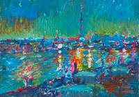 Dubai Creek 29.5x41.5