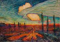 Road under Clouds 50x70