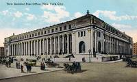Vintage NYC General Post Office Illustration