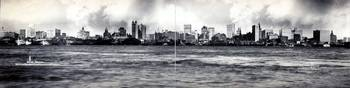 Vintage NYC Skyline Panoramic Photograph (1902)