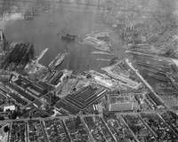 U.S. Naval Yard in Brooklyn NY Photograph (1932)