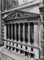 Vintage NYC Stock Exchange Photograph (1908)
