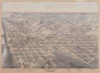 Vintage Pictorial Map of Dallas Texas (1872)
