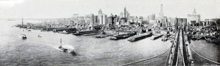 New York City Panorama Photograph (1918)