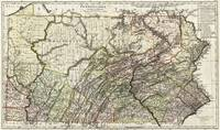 Vintage Map of Pennsylvania (1797)