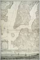 Vintage Map of New York City (1776)