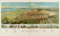 Vintage Pictorial Map of Salt Lake City (1891)