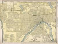 Vintage Map of St. Paul Minnesota (1891)