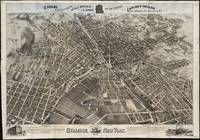 Vintage Pictorial Map of Syracuse New York (1874)