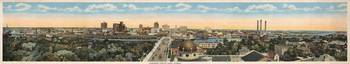 Vintage Pictorial Map of Tampa Florida (1915)