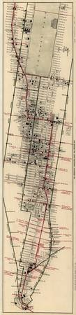Vintage Map of New York City (1906)