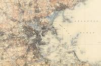 Vintage Boston Topographic Map (1900)