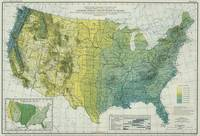 Vintage United States Precipitation Map (1916)