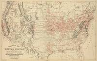 Vintage United States Railroad Map (1886)