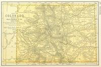 Vintage Map of Colorado (1891)