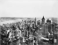 Vintage Lower Manhattan Skyscraper Photo (1913)