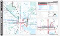 Central Baltimore Frequent Transit Map