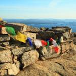 """Prayer Flags on Mount Major"" by RoupenBaker"