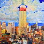 """Empire State at Night"" by BeaconArtWorksCorporation"
