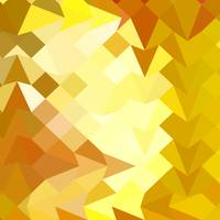 Amber Yellow Abstract Low Polygon Background