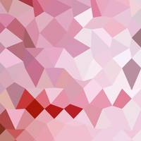 Cameo Pink Abstract Low Polygon Background