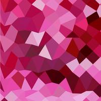 Cerise Pink Abstract Low Polygon Background