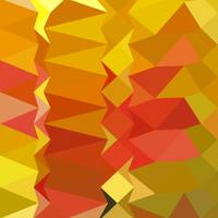 Golden Poppy Abstract Low Polygon Background