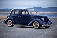1936 Ford Deluxe Four Door Sedan