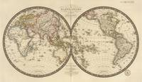 Vintage Map of The World (1820)