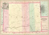 Vintage Map of Wyoming (1874)