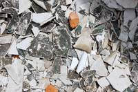 Material at a Demolition Site