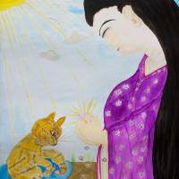 The Prayer by Eiko Yoshii Art Prints & Posters by Lamp Arts Program