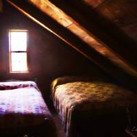 Beds in the Attic Art Prints & Posters by Louise Reeves