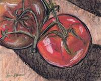 pair of tomatoes, still life