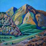 Afternoon Delight California Landscape by RD Riccoboni