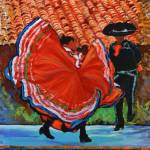 """""""Dancers In Old Town By RD Riccoboni"""" by RDRiccoboni"""