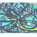 """""""Wwatertown 20by30"""" by carlandcartography"""