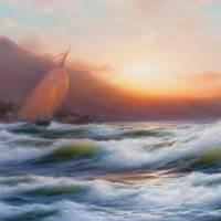 A Sail Art Prints & Posters by Oleksandr Levin