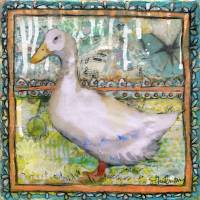 duck dandy | animal art Art Prints & Posters by Miriam Schulman