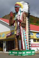 Indian Statue, Mohawk Trail